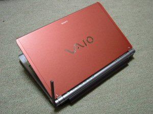 VAIO type T (VGN-TX91PS) カッパー・ワンセグあり